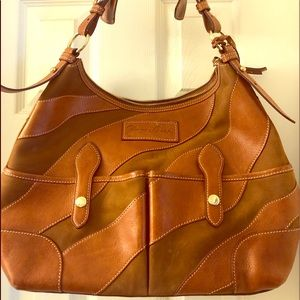 100% Authentic Dooney & Bourke Suede Hobo Bag